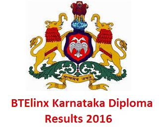Karnataka Diploma Result 2016 Nov / Dec
