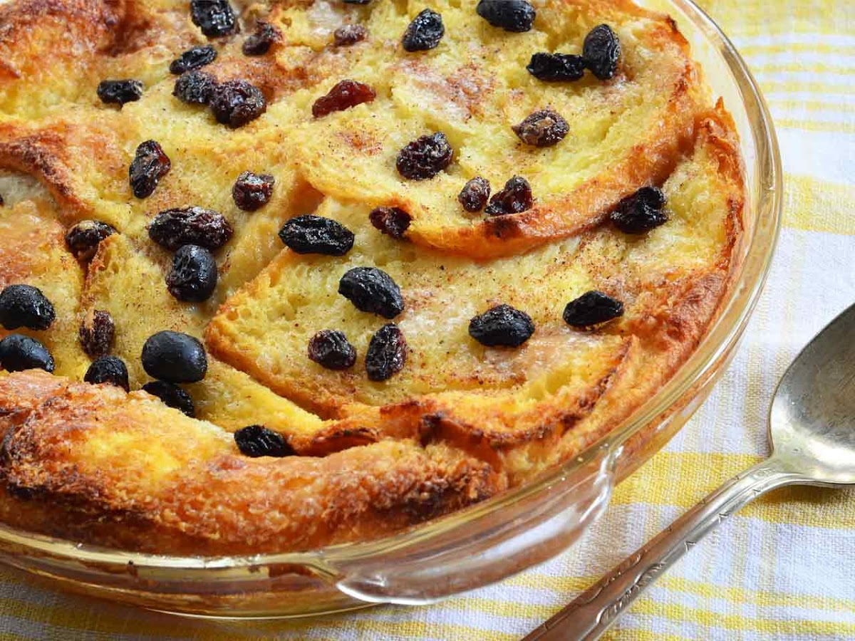 Download Wallpaper Resep Bread Pudding (Roti Tawar) Panggang