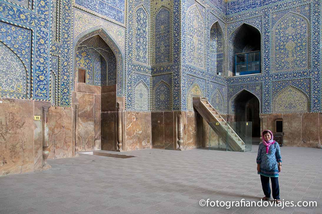 mezquita del Iman, mezquita Shah o Masjee-e Shad en Isfahan