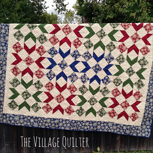 Winterly Wonderful Quilt Free Pattern