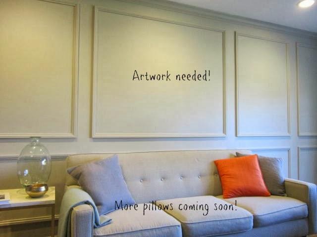 Art Over The Sofa
