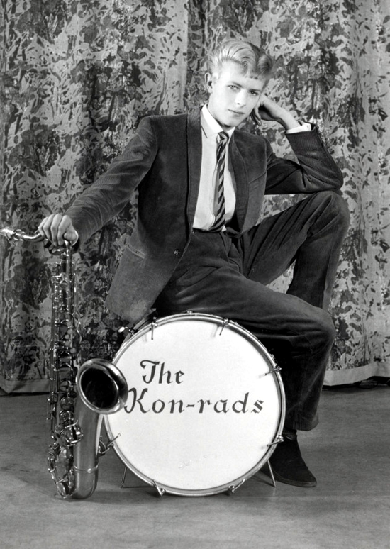 David Bowie and The Kon-rads