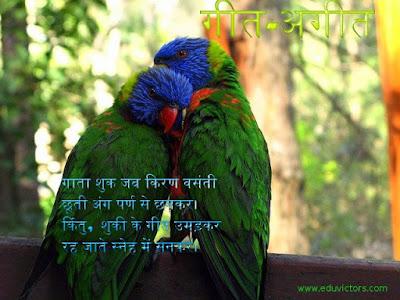 Class 9 - Hindi - गीत-अगीत - कविता का सारांश  (#CBSEClass9Notes)