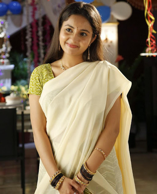 Bhama in Onam Saree Photos