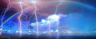 sonhar com cores do arco íris