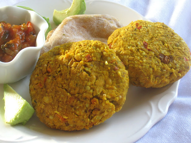 legume grain veg patties