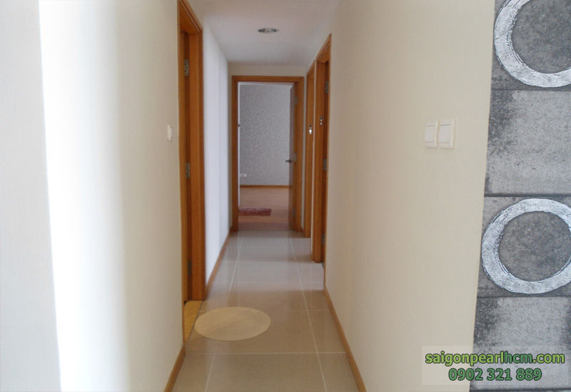 lối vào phòng ngủ căn hộ saigon pearl 136m2