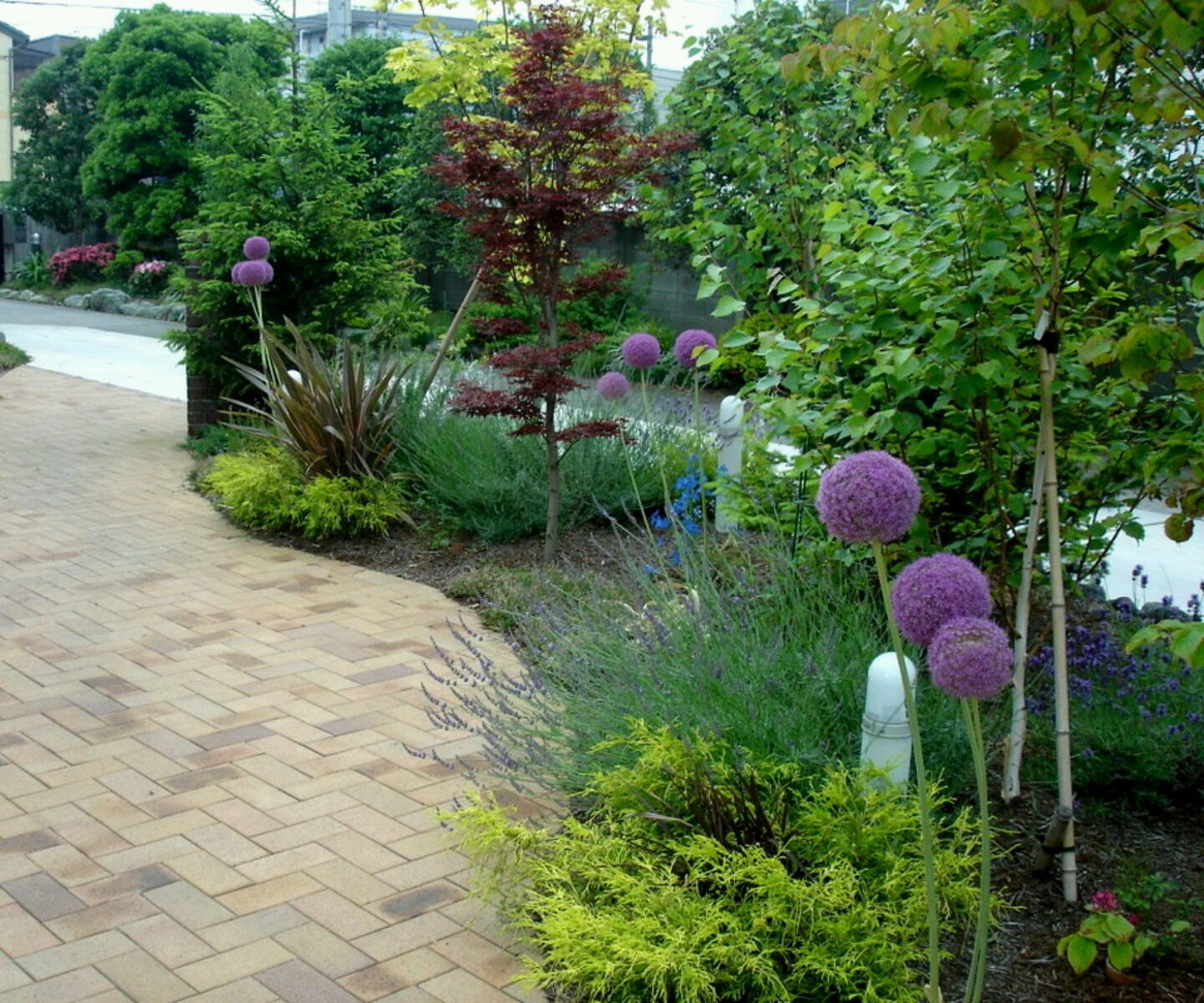 Home Garden Landscaping Ideas: Beautiful Home Gardens Designs Ideas.