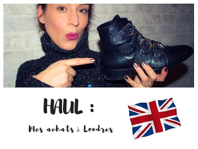 Haul : Mes achats à Londres 💕