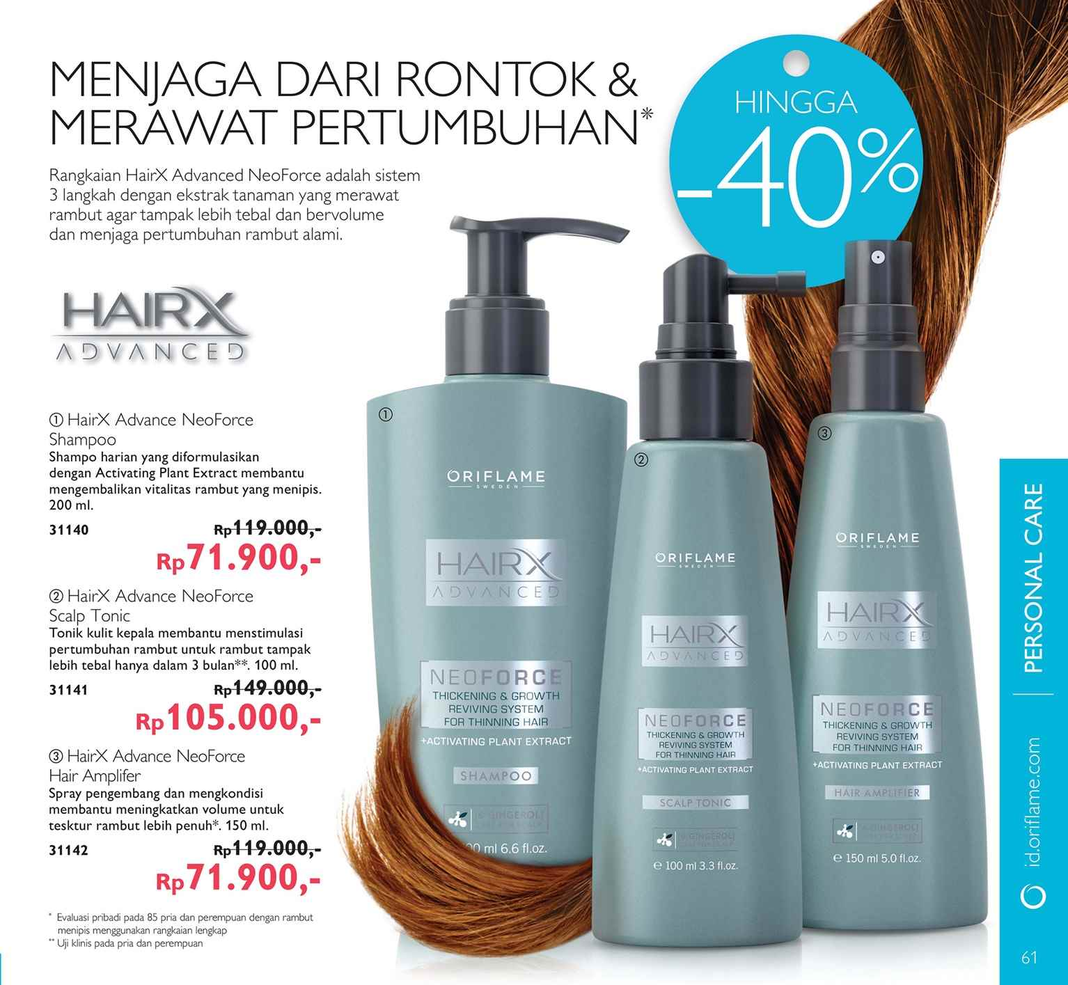 deea spa amp beauty perawatan rambut rontok