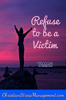 Refuse to be a victim Tamar
