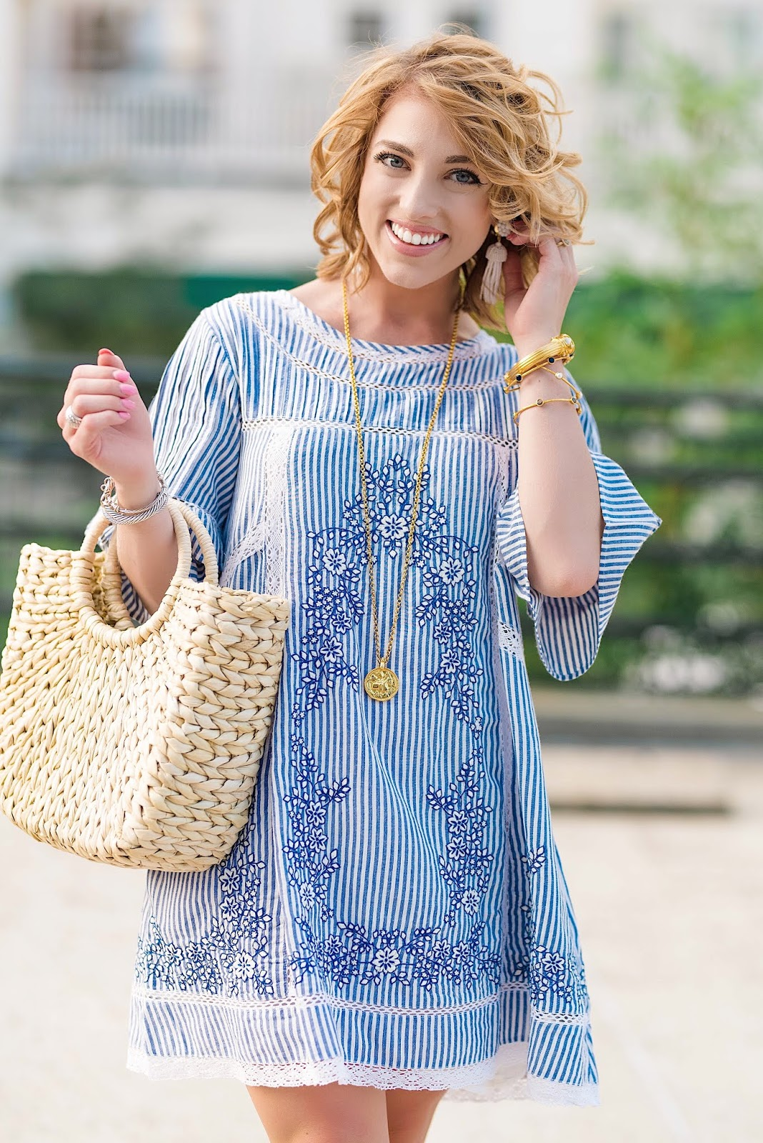 Free People Sunny Day Dress - Something Delightful Blog