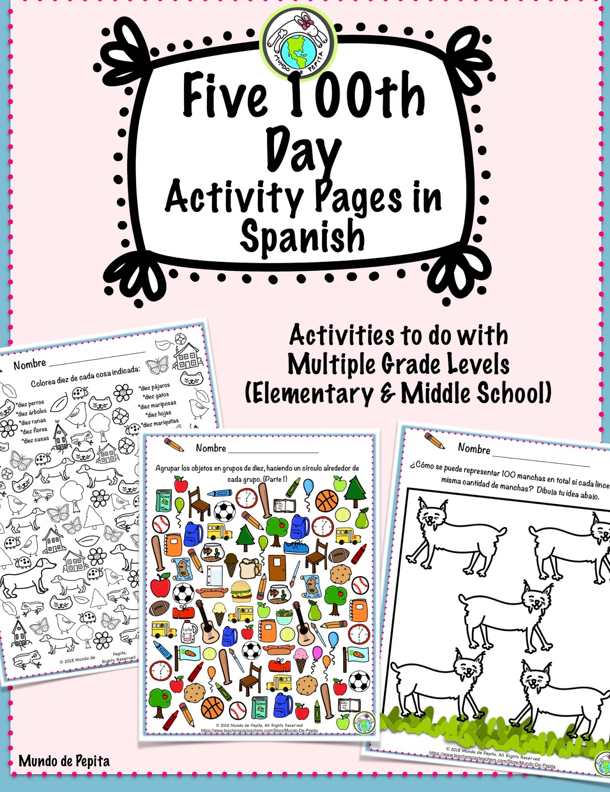 3 Activities To Celebrate 100th Day Of School In Spanish