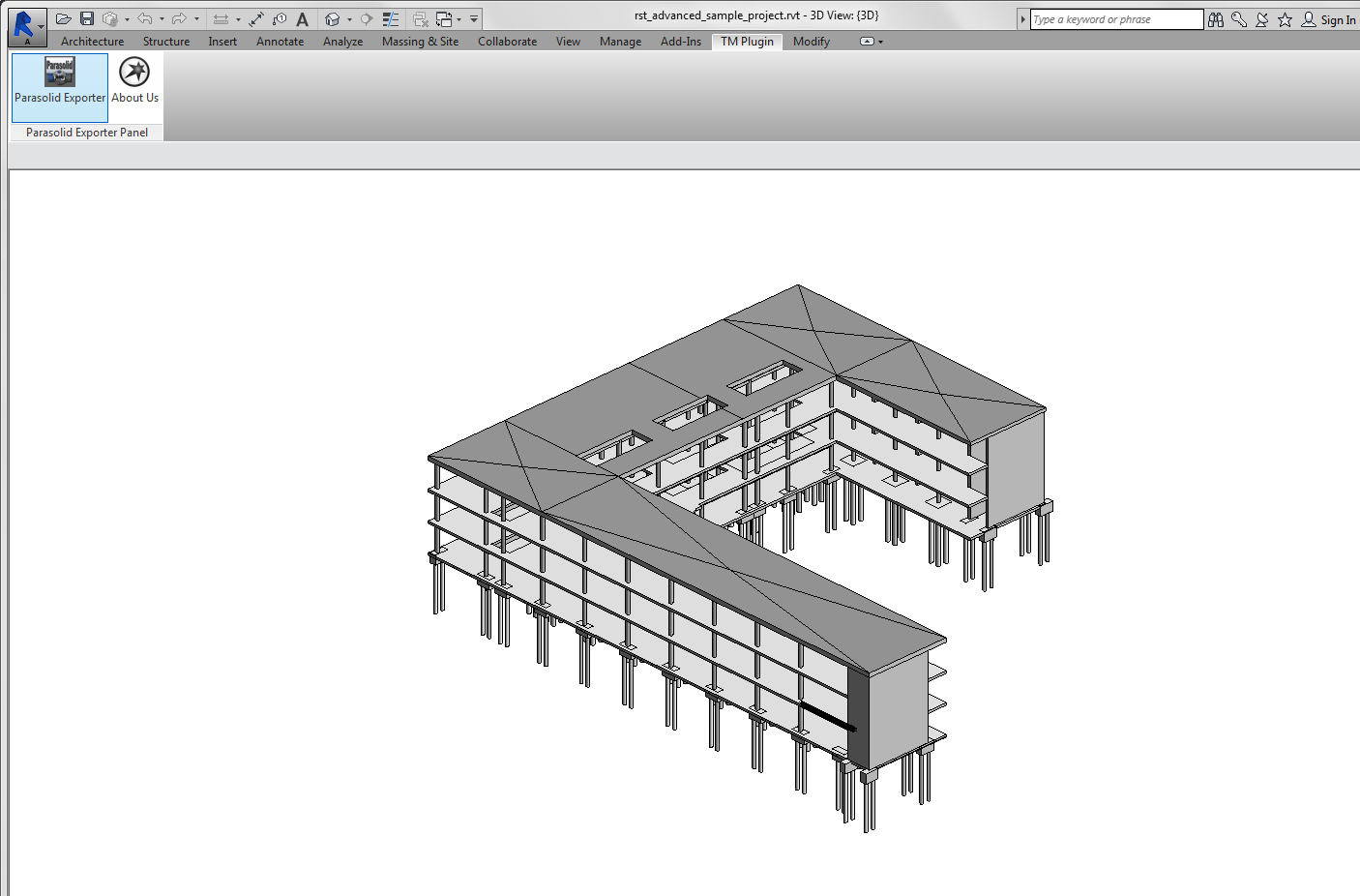 Revit Add-Ons: ExportMaster for Revit – Parasolid