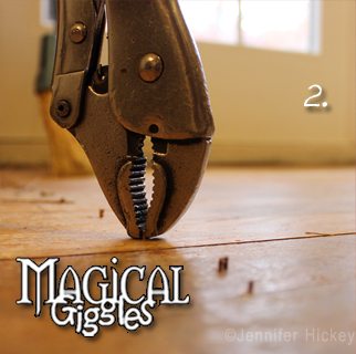 Magical Giggles How To Remove Staples From Hardwood Floors