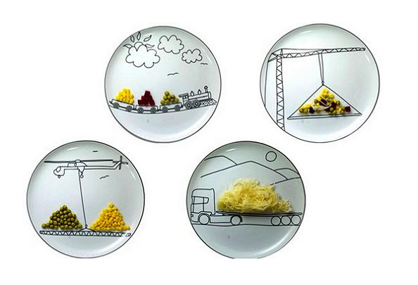 15 Cool Plates and Creative Plate Designs - Part 2.