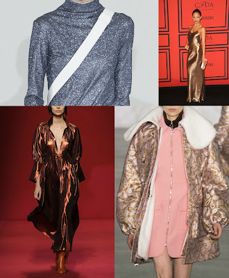 metallic runway winter autumn 2017 2016 inspiration