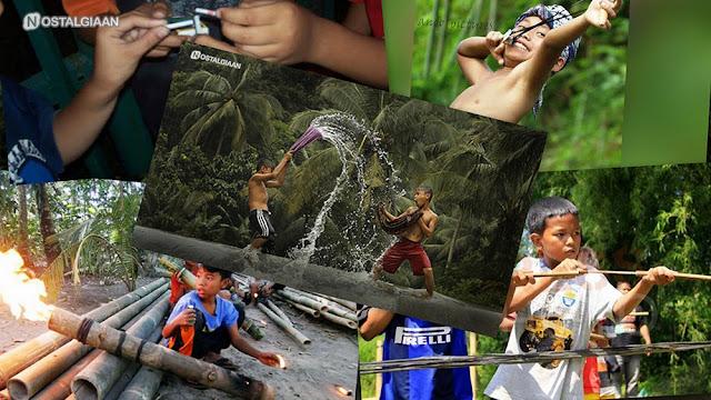 Mainan Alat Perang Tradisional