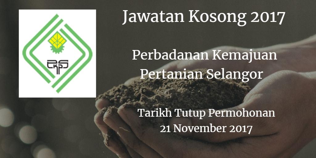 Jawatan Kosong PKPS 21 November 2017
