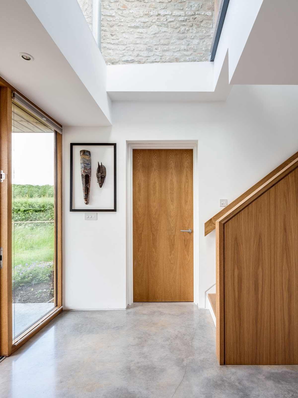 and the new open plan modern extension whose large windows offer fabulous views over the landscape and which lends itself to entertaining