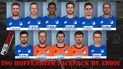 PES 2017 TSG 1899 Hoffenheim Facepack 2018/2019 by Eddie Facemaker