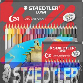 pensil warna staedtler, staedtler pensil crayons