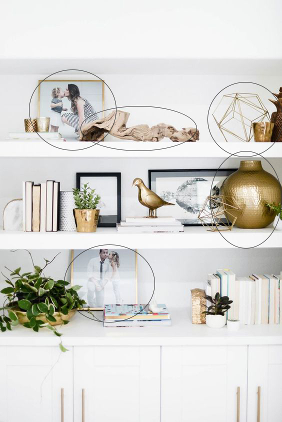 3 No Fail Accessories For Styling Your Bookshelf