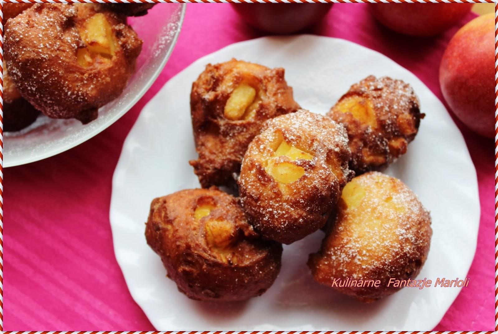 Szybkie Pączki Z Jabłkami Kulinarne Fantazje Marioli