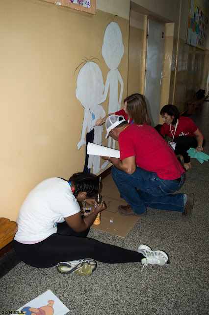 Malowanie ściany..