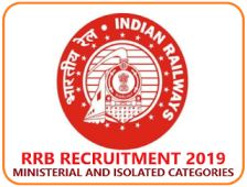 RRB RAILWAY 1665 MINISTERIAL AND ISOLATED VARIOUS POST | 12th/ DEGREE/BCA/B.TECH/ D.El.Ed/ B.Ed