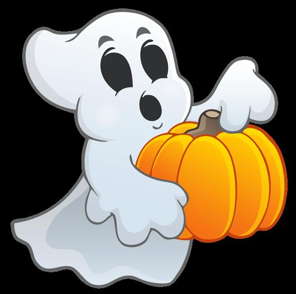 Fantasma con calabaza 2