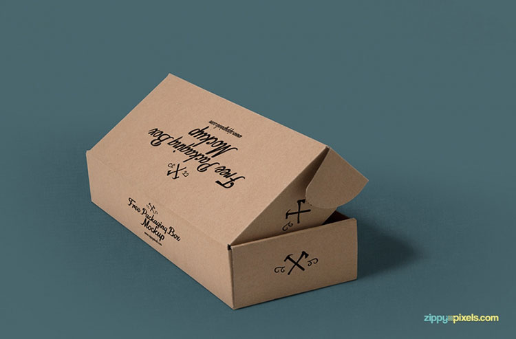 3 Free PSD Packaging Box Mockups