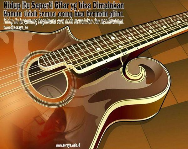 Hidup Itu Seperti Gitar Listrik Yang Bisa Dimainkan