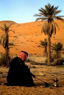 Arabas verda kavą