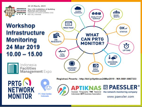 Workshop INFRASTRUCTURE MONITORING 24 Mar 2019 - ICE BSD