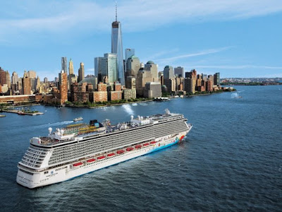 Norwegian Cruise Line's Norwegian Breakaway sails from New York to Florida, Bahamas and the Caribbean