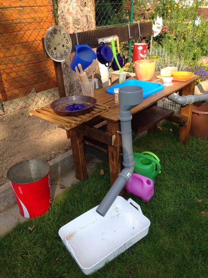 matschküche+1jpg (720×960) Kinder Pinterest Selbst bauen - outdoor küche selber bauen