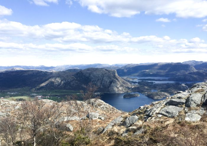 hiking Rogaland Norway