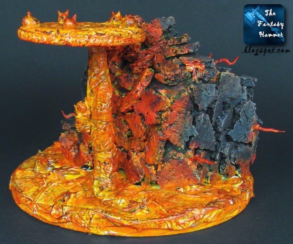 Diorama Lava Base