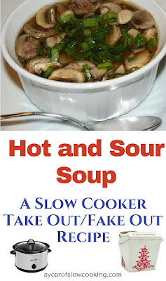 Make hot and sour soup at home easily in your crockpot slow cooker. This is a great soup to make when you are sick -- tastes just like a restaurant!