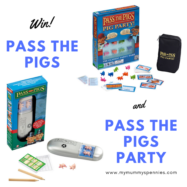 WIN pass the Pigs and Pass the pigs party games