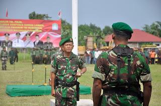 Danrem 012 Teuku Umar Buka TMMD di Pante Kuyun, Aceh Jaya
