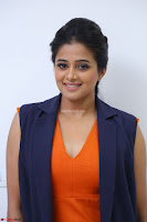 Priyamani in Beautiful Short Deep neck Orange Dress ~  Exclusive 22.JPG