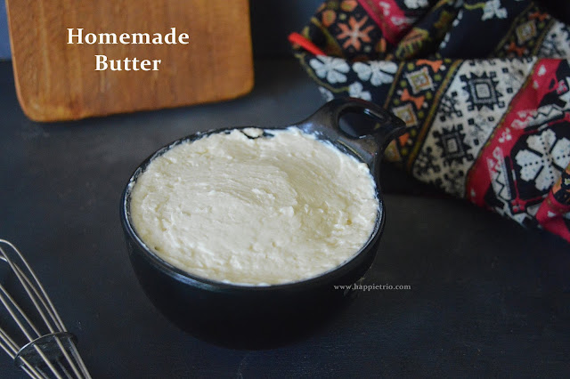 Homemade Butter Recipe | How to make Butter in home