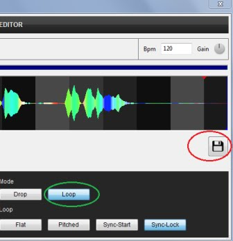 how to convert audio to vdjsample file format