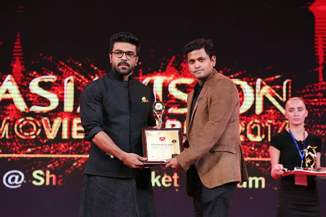 RamCharan at AsiaVision 2016 Awards