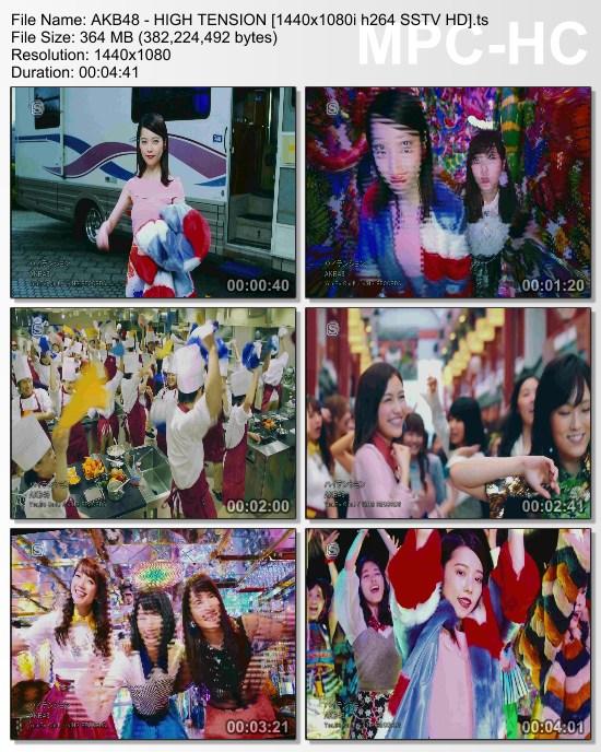 [TV-Variety] AKB48 – ハイテンション (SSTV HD Edit Ver.)