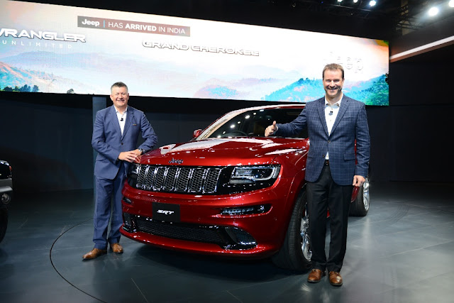 Jeep Grand Cherokee SRT Auto Expo 2016 India
