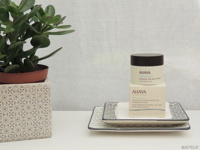 revue avis test ahava hydratant essentiel jour peaux mixtes essential day moisturizer