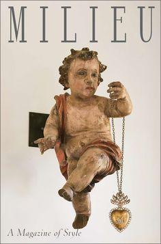 image result for Milieu magazine cover cherub antique